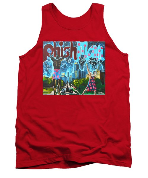 Phishmann Tank Top by Kevin J Cooper Artwork