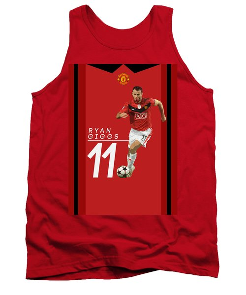 Ryan Giggs Tank Top by Semih Yurdabak