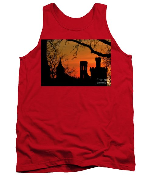 Smithsonian Castle Tank Top by Luv Photography