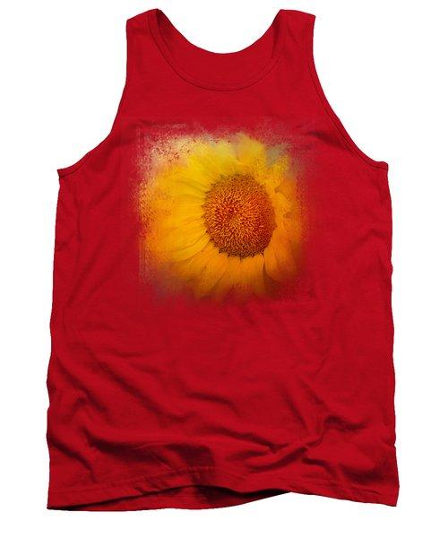 Sunflower Surprise Tank Top by Jai Johnson