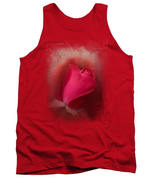 The First Red Rose Tank Top by Jai Johnson
