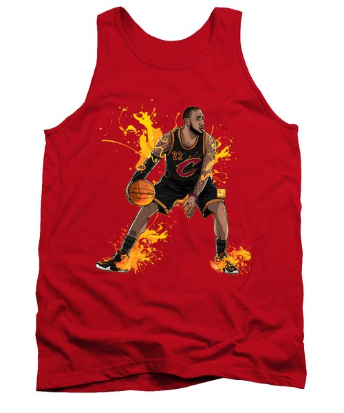 The King James Tank Top by Akyanyme