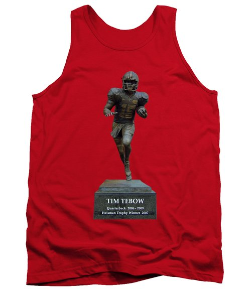 Tim Tebow Transparent For Customization Tank Top by D Hackett
