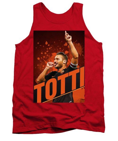 Totti Tank Top by Semih Yurdabak