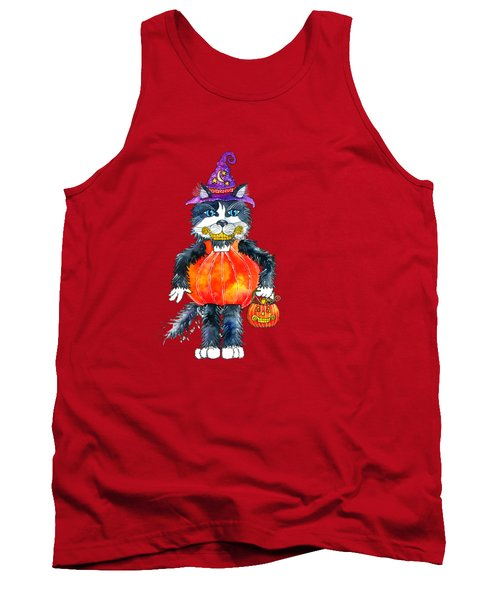 Trick Or Treat Tank Top by Shelley Wallace Ylst