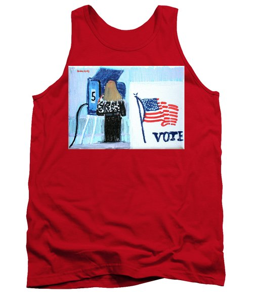 Voting Booth 2008 Tank Top by Candace Lovely
