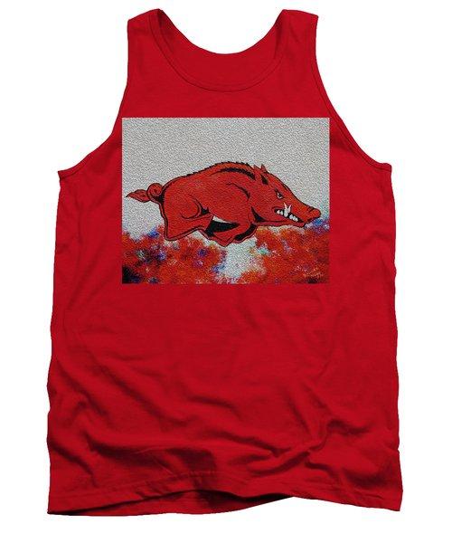 Woo Pig Sooie 2 Tank Top by Belinda Nagy