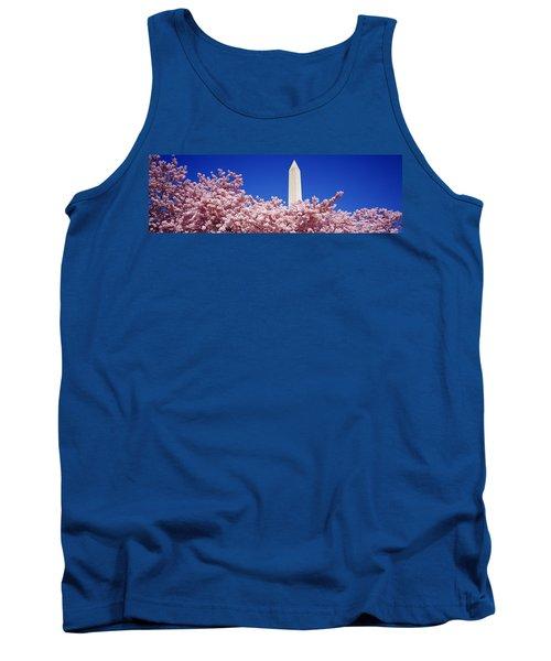 Washington Monument Washington Dc Tank Top by Panoramic Images