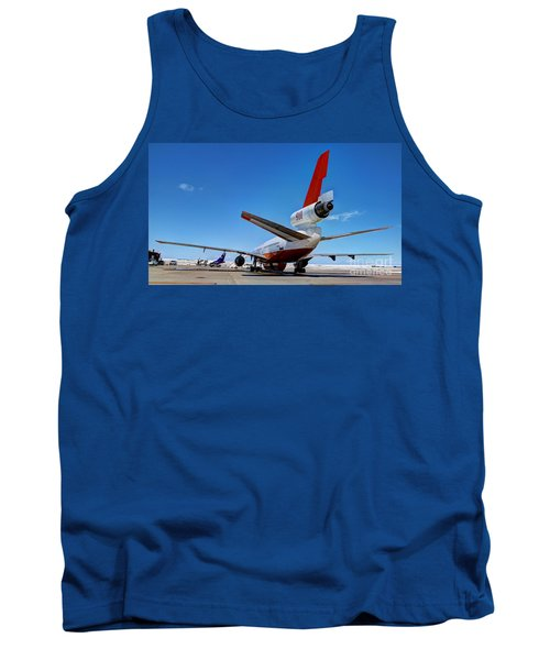 Tank Top featuring the photograph Dc-10 Air Tanker  by Bill Gabbert