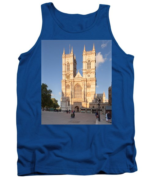 Facade Of A Cathedral, Westminster Tank Top by Panoramic Images
