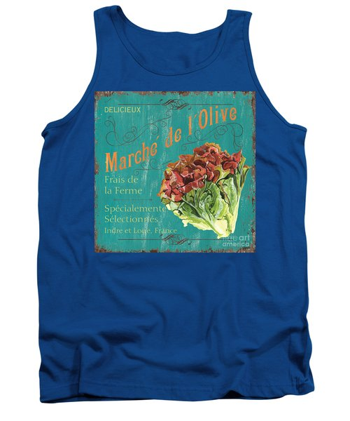 French Market Sign 3 Tank Top by Debbie DeWitt