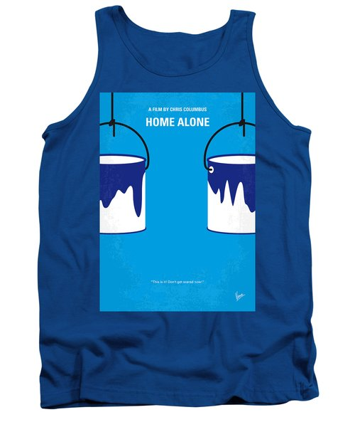No427 My Home Alone Minimal Movie Poster Tank Top by Chungkong Art