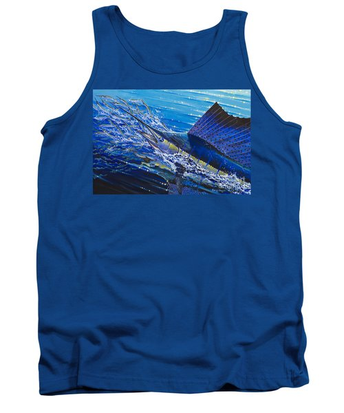 Sail On The Reef Off0082 Tank Top by Carey Chen