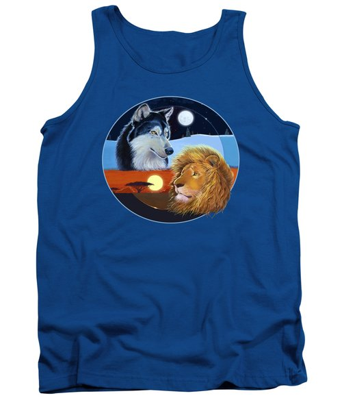 Celestial Kings Circular Tank Top by J L Meadows