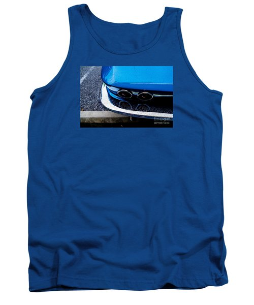 Tank Top featuring the photograph 1965 Corvette Sting Ray by M G Whittingham