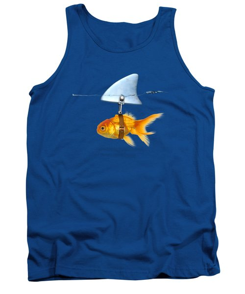 Gold Fish  Tank Top by Mark Ashkenazi