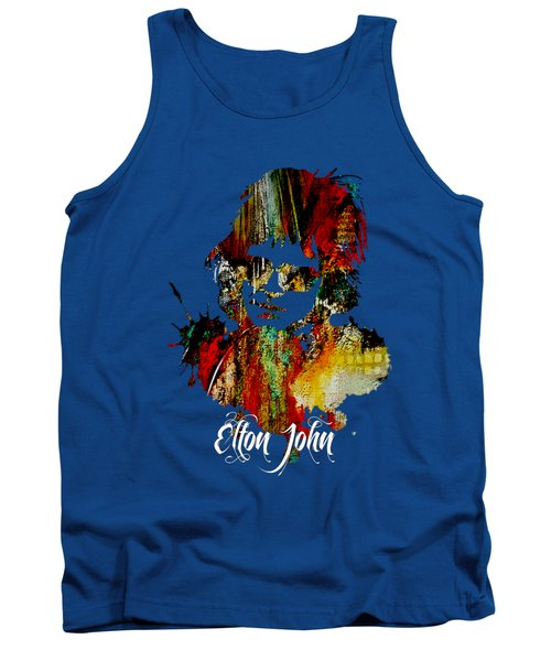 Elton John Collection Tank Top by Marvin Blaine