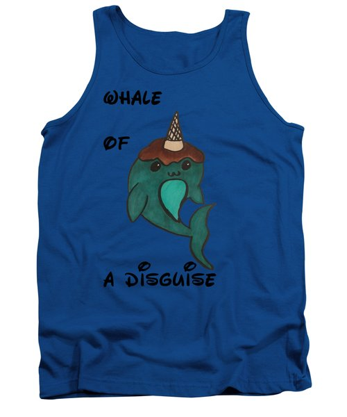 a Whale of a disguise Tank Top by Darci Smith