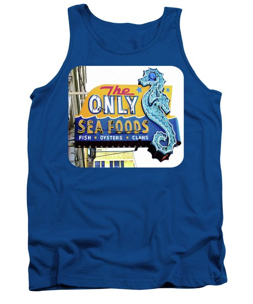 Cafe Sign Tank Top by Ethna Gillespie