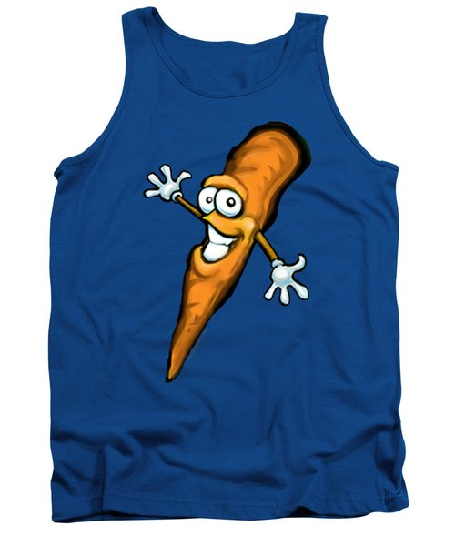 Carrot Tank Top by Kevin Middleton