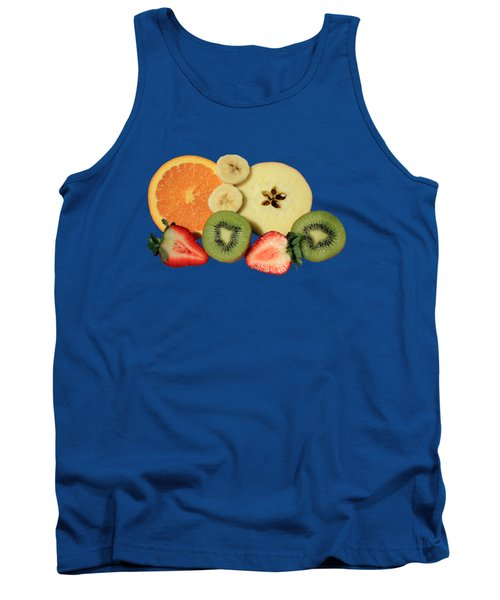 Cut Fruit Tank Top by Shane Bechler