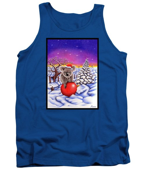 Koala On Ball Tank Top by Remrov
