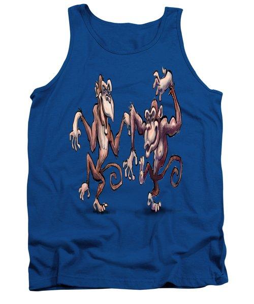 Monkey Dance Tank Top by Kevin Middleton