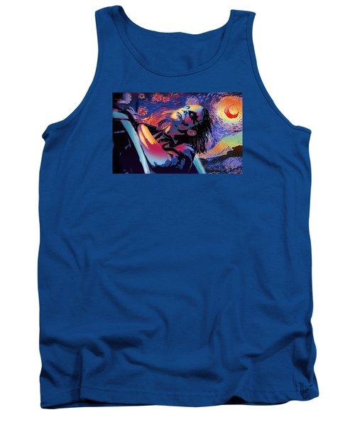 Serene Starry Night Tank Top by Surj LA