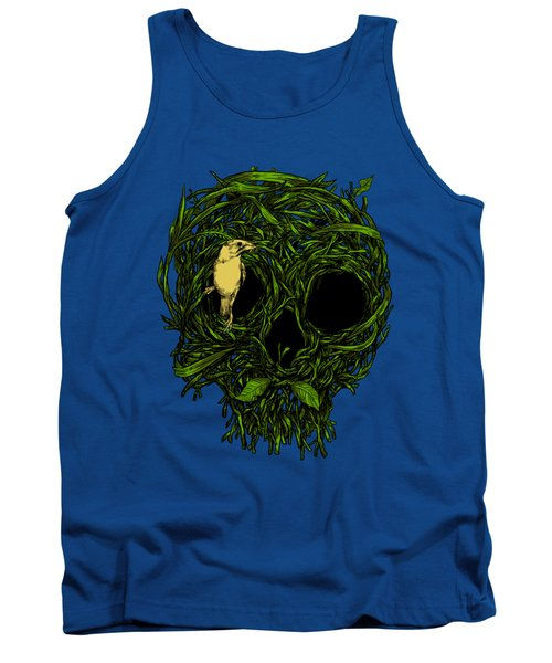 Skull Nest Tank Top by Carbine