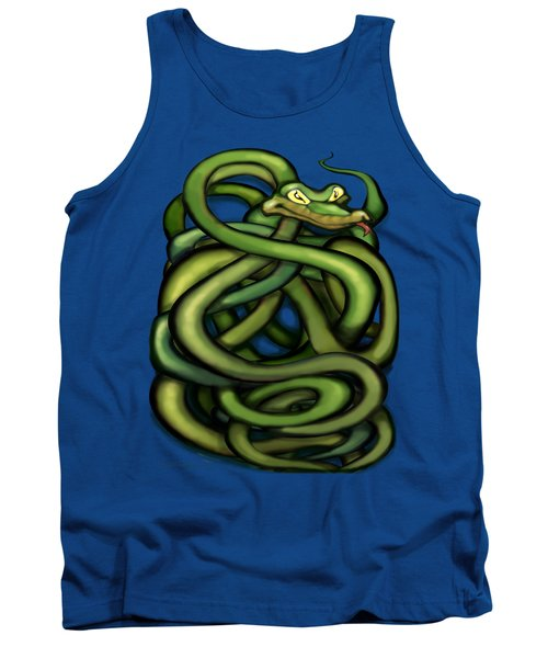 Snakes Tank Top by Kevin Middleton