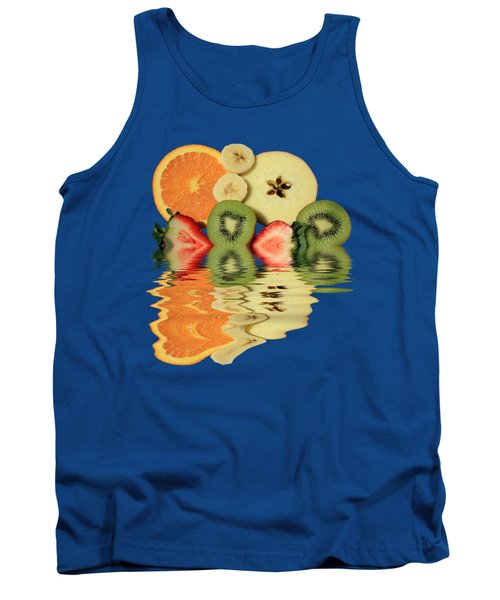 Split Reflections Tank Top by Shane Bechler