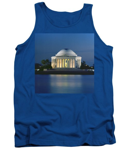 The Jefferson Memorial Tank Top by Peter Newark American Pictures
