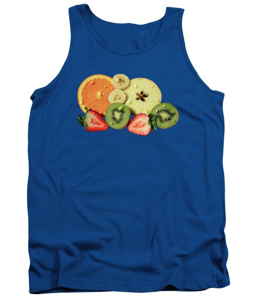 Wet Fruit Tank Top by Shane Bechler