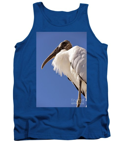 Wonderful Wood Stork Tank Top by Carol Groenen