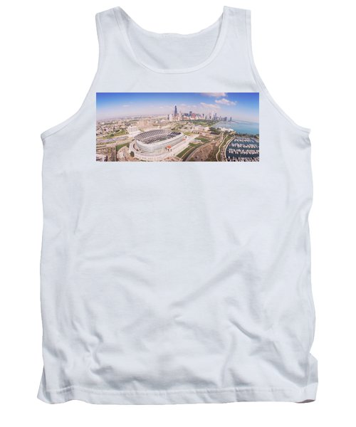 Aerial View Of A Stadium, Soldier Tank Top by Panoramic Images