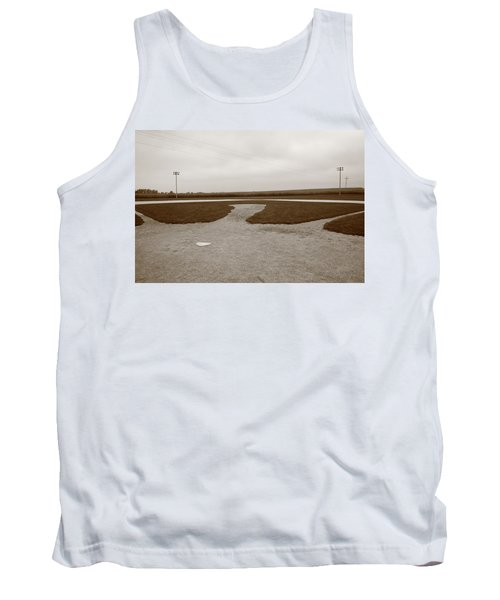 Baseball Tank Top by Frank Romeo