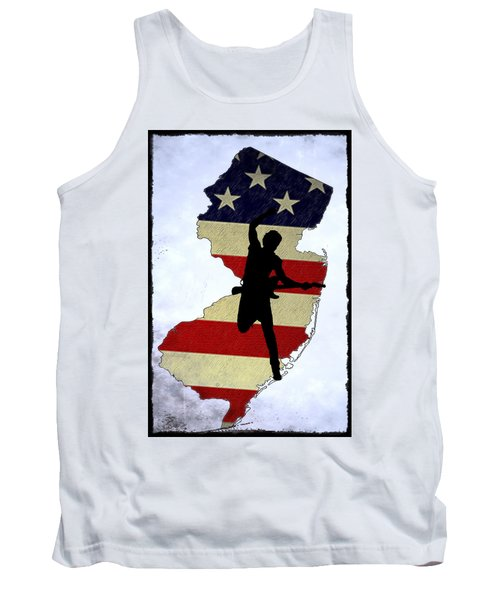 Born In New Jersey Tank Top by Bill Cannon