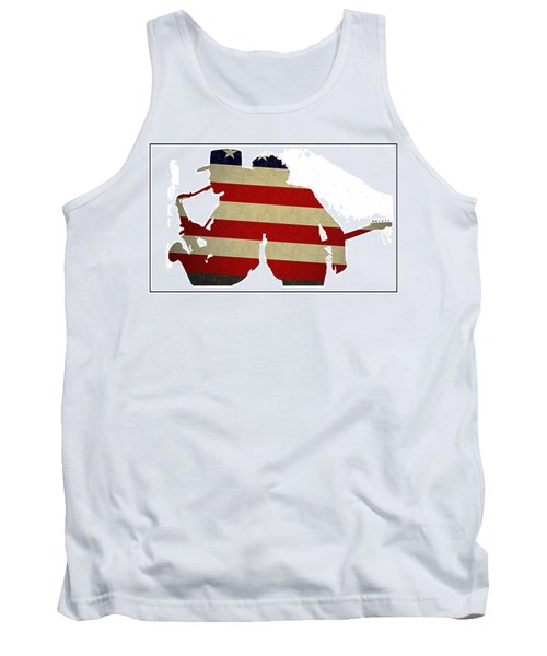 The Big Man And The Boss Tank Top by Bill Cannon