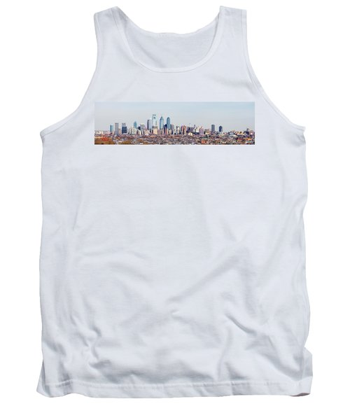 Buildings In A City, Comcast Center Tank Top by Panoramic Images