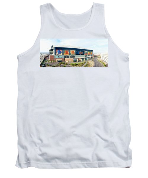 High Angle View Of A Baseball Stadium Tank Top by Panoramic Images