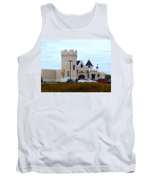 A Cheese Castle Tank Top by Kay Novy