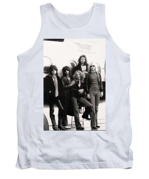 Aerosmith - Eurofest Jet 1977 Tank Top by Epic Rights