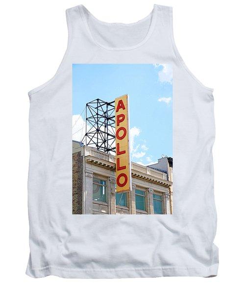 Apollo Theater Sign Tank Top by Valentino Visentini
