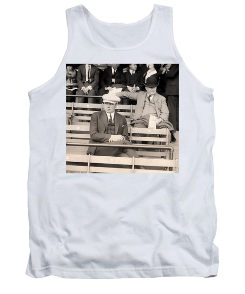 Babe Ruth In The Stands At Griffith Stadium 1922 Tank Top by Mountain Dreams