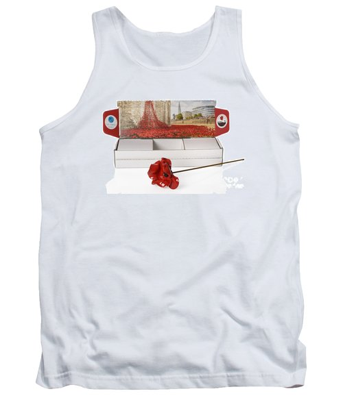 Blood Swept Lands And Seas Of Red Tank Top by Amanda Elwell