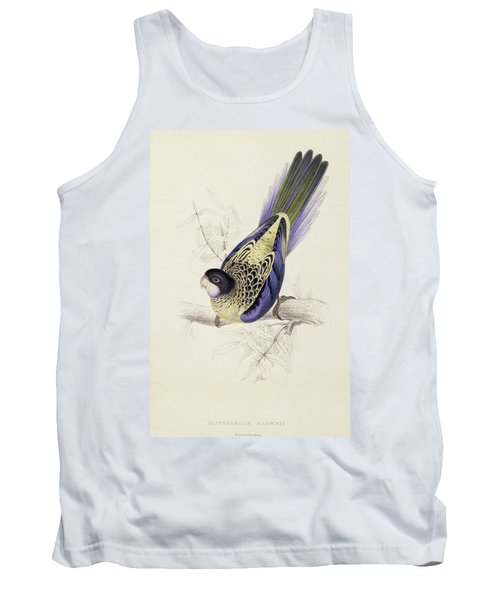 Browns Parakeet Tank Top by Edward Lear