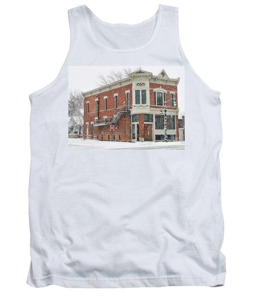 Downtown Whitehouse  7031 Tank Top by Jack Schultz