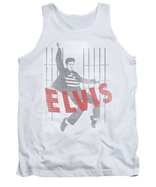 Elvis - Iconic Pose Tank Top by Brand A