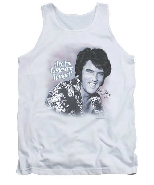 Elvis - Lonesome Tonight Tank Top by Brand A