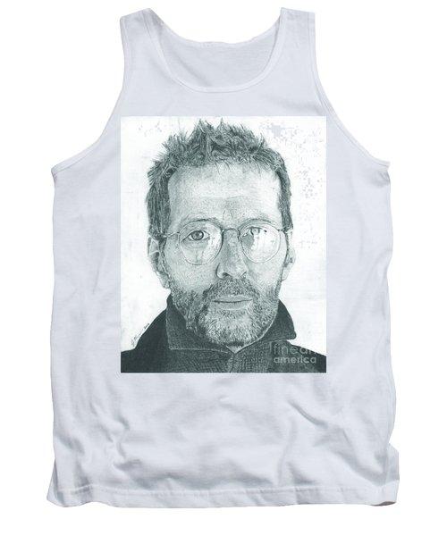 Eric Clapton Tank Top by Jeff Ridlen